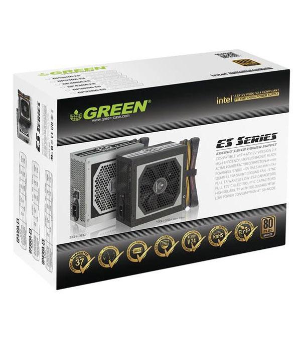 منبع تغذیه کامپیوتر گرین مدل Green GP530A-ES